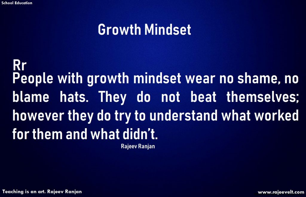 Growth mindset-rajeev ranjan